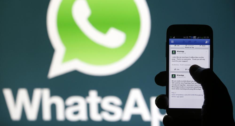 Whatsapp facilitará teléfono y otras informaciones a Facebook